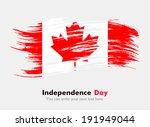 flag of canada | Shutterstock .eps vector #191949044