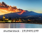 Panorama Of The Ionian Coast Of ...