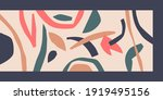 a composition with abstract... | Shutterstock .eps vector #1919495156