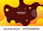 liquid color background design. ... | Shutterstock .eps vector #1919508500