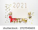 beautiful new year composition...   Shutterstock . vector #1919540603