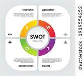swot analysis infographic...   Shutterstock .eps vector #1919554253