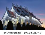 Exterior Of Buddhist Temple In...