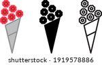 flowers bouquet icon   vector...   Shutterstock .eps vector #1919578886