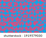 doodle seamless pattern.... | Shutterstock .eps vector #1919579030