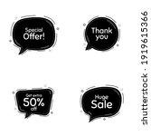huge sale  50 percent discount...   Shutterstock .eps vector #1919615366