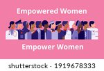 international women's day.... | Shutterstock .eps vector #1919678333