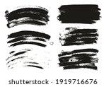 round sponge thin artist brush... | Shutterstock .eps vector #1919716676