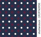 circle polka dot seamless... | Shutterstock .eps vector #1919763950