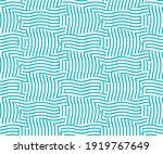 seamless wavy striped...   Shutterstock .eps vector #1919767649