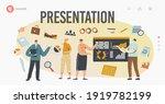 business presentation landing... | Shutterstock .eps vector #1919782199