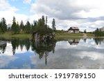 Unique Reflection On Lake...