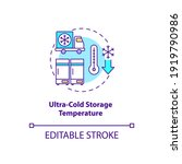 ultra cold storage temperature...   Shutterstock .eps vector #1919790986