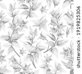 seamless pattern with gray... | Shutterstock .eps vector #1919825306