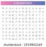 coronavirus prevention.... | Shutterstock .eps vector #1919842169