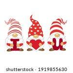 three gnomes svg. gnomes svg....   Shutterstock .eps vector #1919855630
