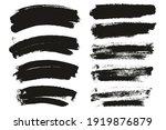 round sponge thin artist brush... | Shutterstock .eps vector #1919876879