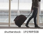 Постер, плакат: Woman carries your luggage
