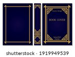 Spine And Book Cover Design...