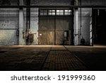 industrial interior of an old... | Shutterstock . vector #191999360