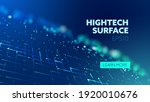 future technology. hightech... | Shutterstock .eps vector #1920010676