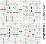 illustration texture dominoes... | Shutterstock .eps vector #192004430