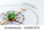 brazil high resolution 2014...   Shutterstock . vector #192007373