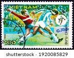 Vietnam   Circa 1990  A Stamp...