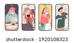set of video creator... | Shutterstock .eps vector #1920108323