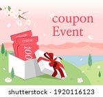 an event to present a shopping... | Shutterstock .eps vector #1920116123