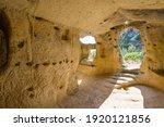 ancient byzantine village...   Shutterstock . vector #1920121856