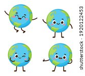 cute planet earth character....   Shutterstock .eps vector #1920122453