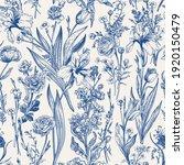 floral seamless pattern.... | Shutterstock .eps vector #1920150479