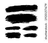 hand drawn vector paint spots ... | Shutterstock .eps vector #1920157679