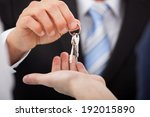 cropped image of estate agent... | Shutterstock . vector #192015890