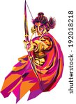 lord rama   he s the seventh... | Shutterstock .eps vector #192018218