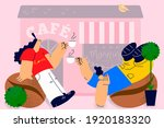 coffee shop  cafeteria ...   Shutterstock .eps vector #1920183320