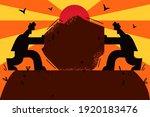 business rivalry  leadership ... | Shutterstock .eps vector #1920183476