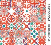 decorative color ceramic...   Shutterstock .eps vector #1920201593
