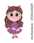 little girl princess  for...   Shutterstock . vector #1920213029