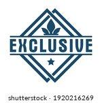 vector premium exclusive label... | Shutterstock .eps vector #1920216269