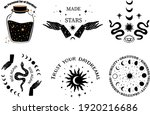 mystical and celestial...   Shutterstock .eps vector #1920216686