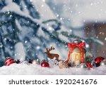 Decorated Christmas Lantern...