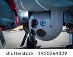 Camera sensor pod under a...
