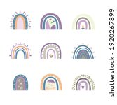 abstract rainbow background for ... | Shutterstock .eps vector #1920267899