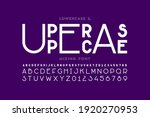 lowercase and uppercase letters ... | Shutterstock .eps vector #1920270953