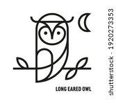 Long Eared Owl Icon....