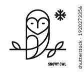 Snowy Owl Icon. Ornithology ...