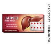 liver herbal therapy promo... | Shutterstock .eps vector #1920277529