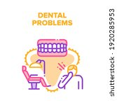 dental problems vector icon... | Shutterstock .eps vector #1920285953